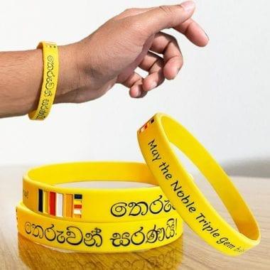 Good Luck Buddhist Wristband