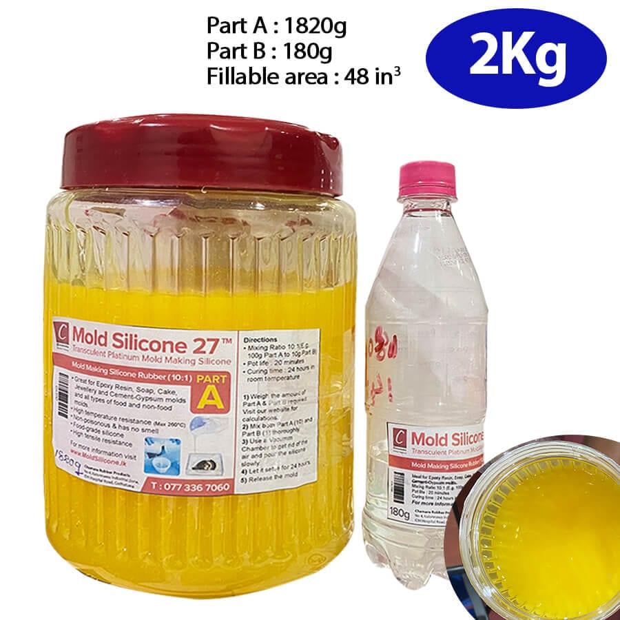 2kg liquid mold silicone rubber