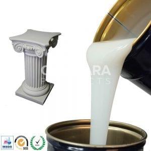 Statue silicone rubber